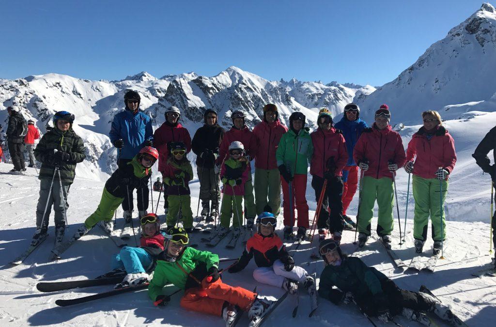 Skiausfahrt Montafon 2017